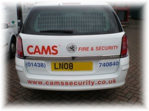 CAMS® Astra Van, Security Service Vehicle